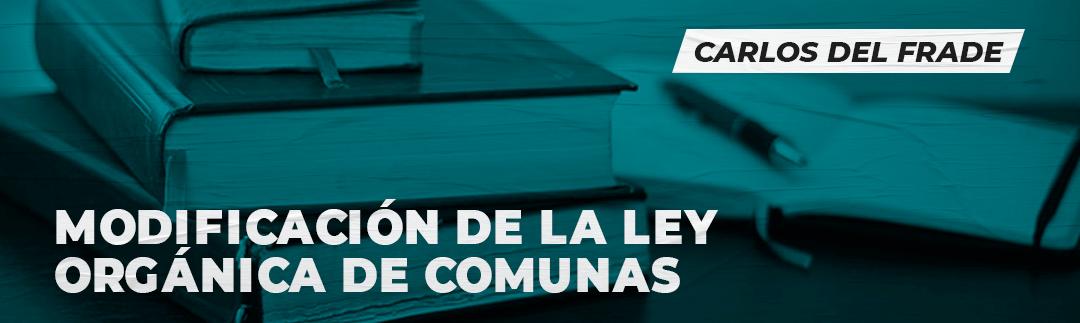 ley organica de comunas