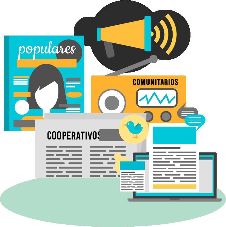 Medios populares, comunitarios, cooperativos