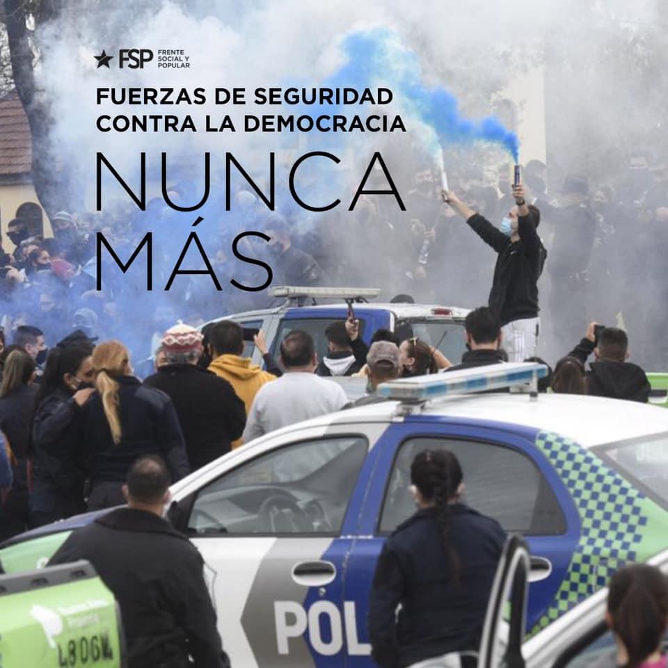 Control democrático de las fuerzas de seguridad