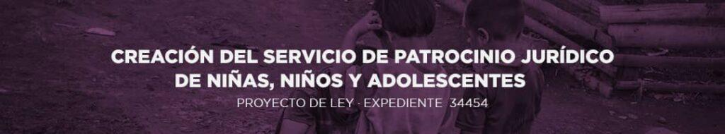 SERVICIO DE PATROCINIO JURÍDICO
