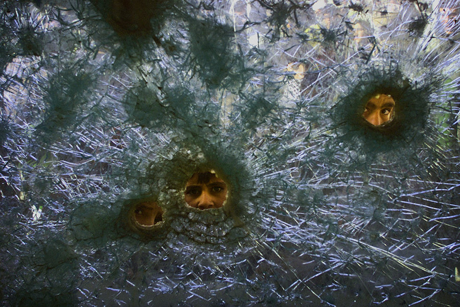 foto balas narcotráfico
