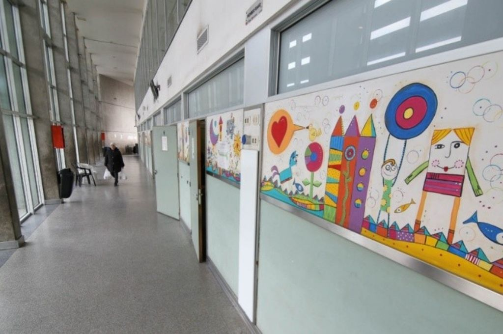 dibujo hospital de niños